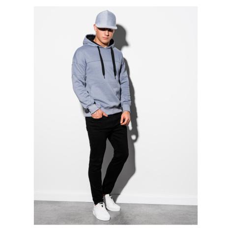 Ombre Clothing Men's hooded sweatshirt B1078