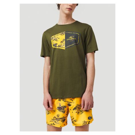 Tričko O'Neill Lm Marco T-Shirt Zelená