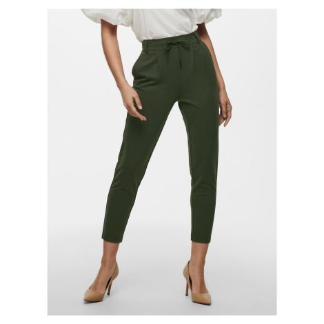 Poptrash Kalhoty ONLY Zelená