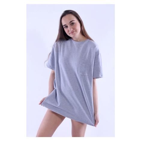 Dámské oversize tričko Stella šedá Nelly