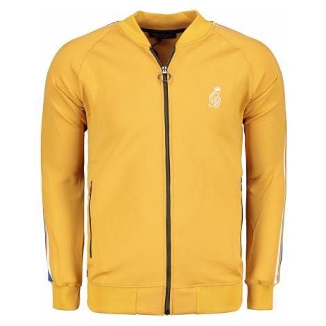 Ombre Clothing Men's zip-up sweatshirt B975