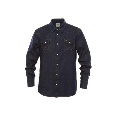 Košile Wrangler 27MW New pánská tmavě modrá