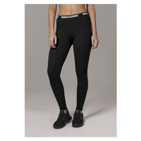 Legíny Urban Classics Ladies Logo Leggings