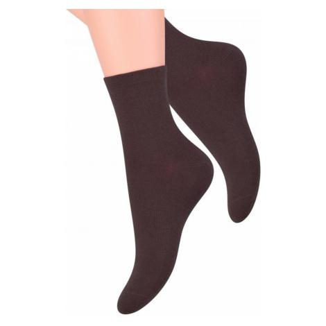 Dámské ponožky 037 brown Steven