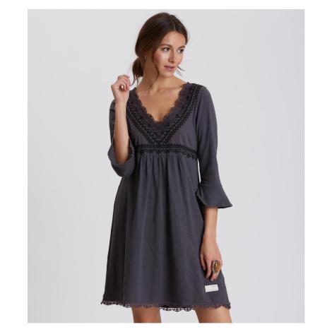 Šaty Odd Molly Lace Vibration Dress - Černá