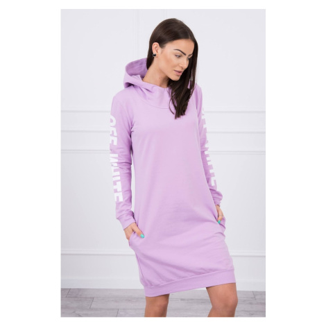 Dress Off White purple Kesi
