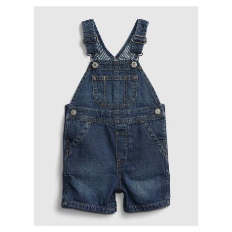 GAP modré baby džíny s laclem