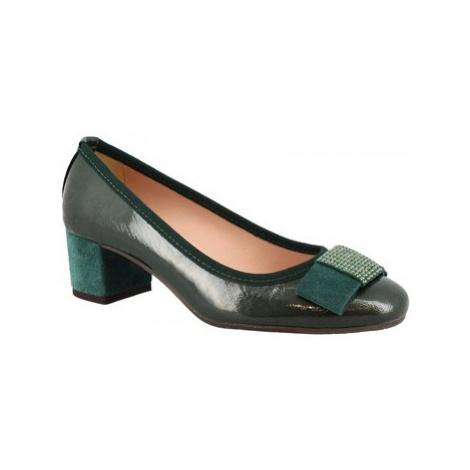 Leonardo Shoes 3056 NAPLAK FOREST Zelená