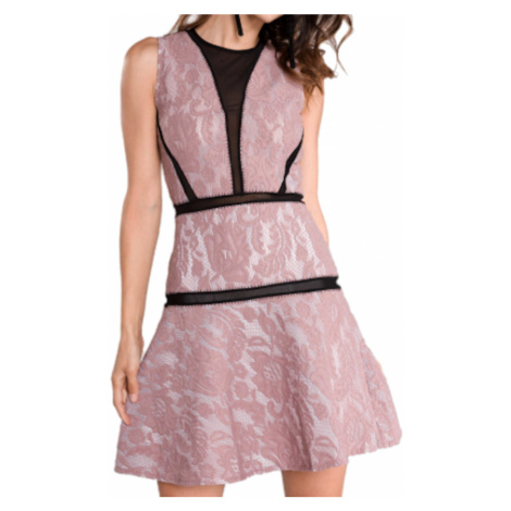 Růžové šaty - JUST CAVALLI
