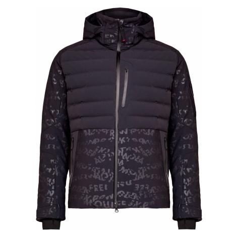 Lyžařská bunda Bogner ERIK-D vzorkování|černá