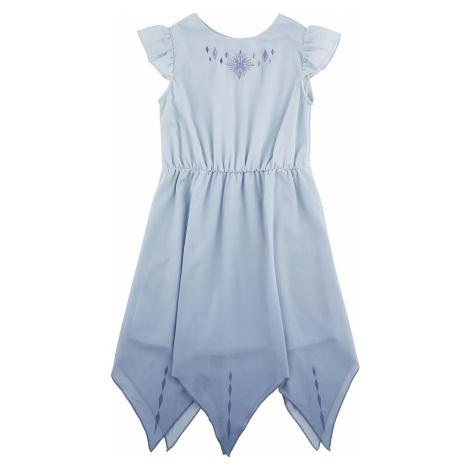 Frozen Elsa - Prom detské šaty světle modrá