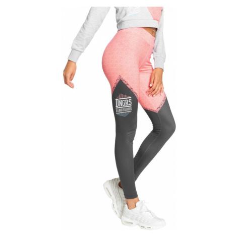 Dangerous DNGRS legíny dámské Legging/Tregging Tackle in black legíny