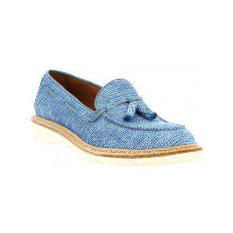 Leonardo Shoes W052-24 COSTES DENIM Modrá