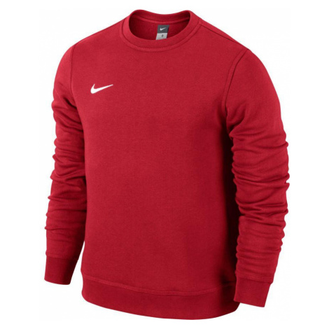 Mikina Nike Team Club Crew Červená / Bílá