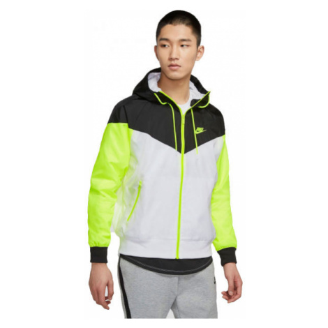 Nike NSW HE WR JKT HD M bílá - Pánská bunda