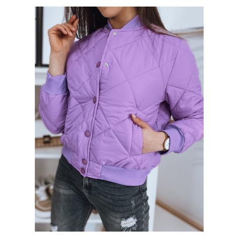 Women's bomber jacket SHERRY purple Dstreet TY1877