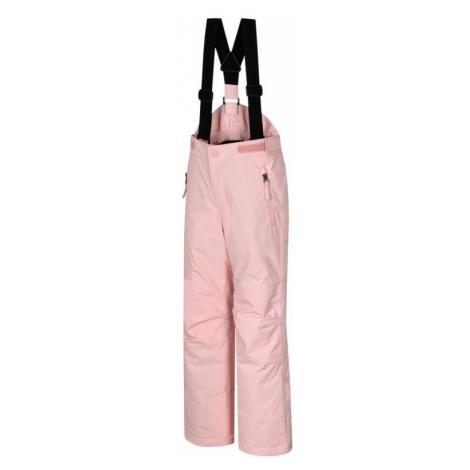 Dětské kalhoty Hannah Akita JR II seashell pink