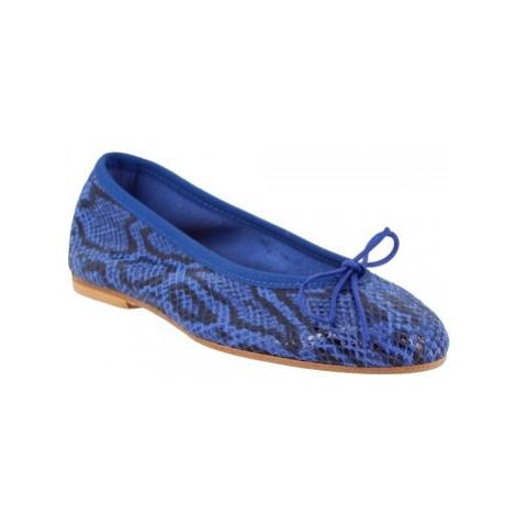 Leonardo Shoes 6087 PITEN MARINE Modrá