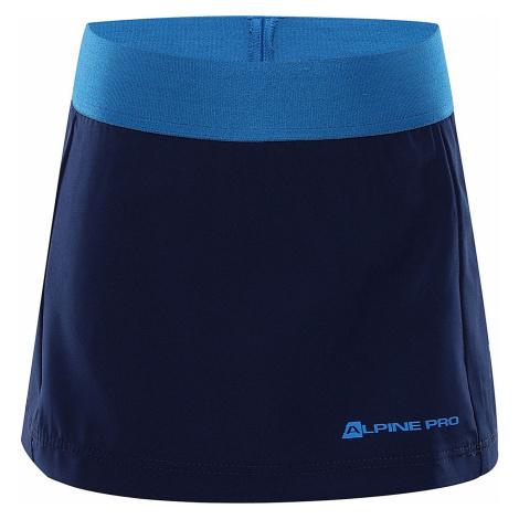 ALPINE PRO CHUPO 2 Dětská sukně KSKR065677 estate blue