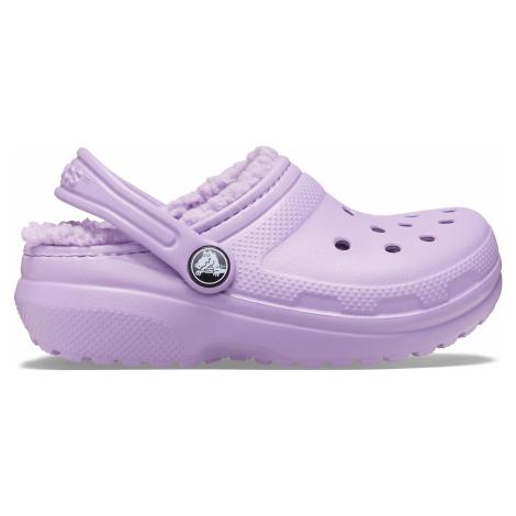 Crocs Classic Lined Clog K Orchid J5