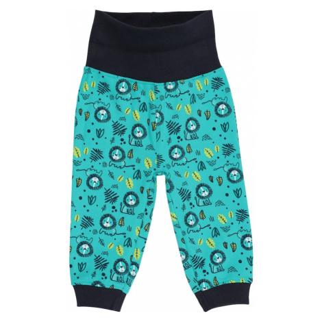 Guppy Kalhoty námořnická modř / tyrkysová / žlutá / bílá