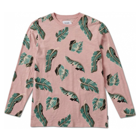 TRIKO DIAMOND Tropical Paradise L/S - růžová Diamond Supply Co.