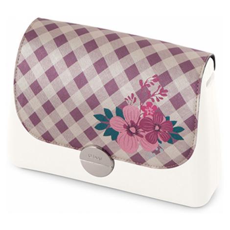 Klopa vichy flower cassis pro obag glam O bag