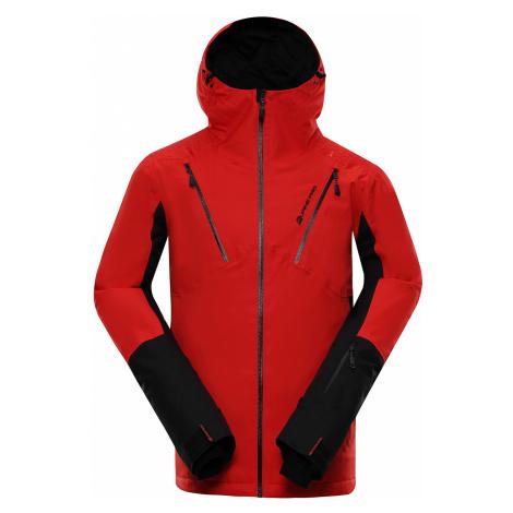 Pánská lyžařská bunda Alpine Pro MIKAER 3 - červená