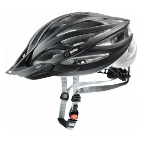 Cyklistická helma Uvex Oversize black mat-silver