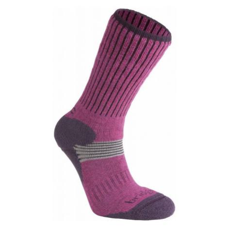 Ponožky Bridgedale Ski Cross Country Women's berry/plum/352