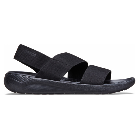 Crocs LiteRide Stretch Sandal W Black/Black W5
