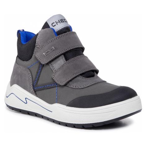 Kotníková obuv IMAC - 631628 S Dark Grey/Bluet 7004/007