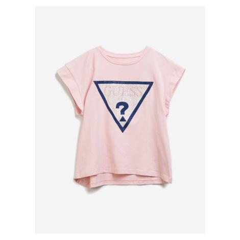 Midi Triko dětské Guess Růžová