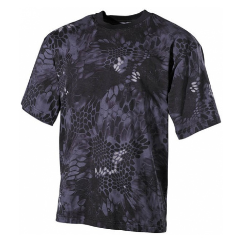 Tričko US T-Shirt snake black Max Fuchs