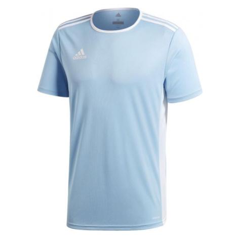 adidas ENTRADA 18 JSY modrá - Pánský fotbalový dres