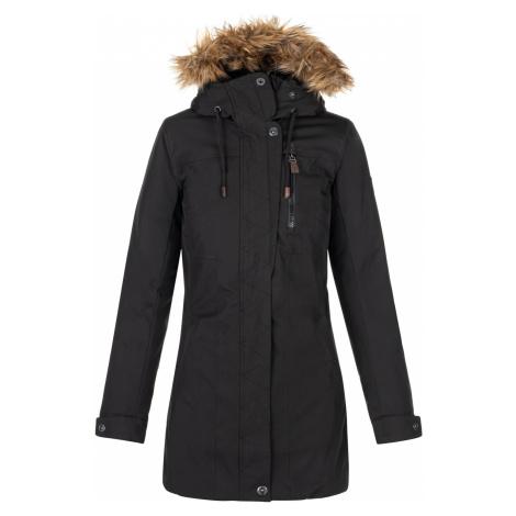 KILPI Dámský zimní kabát PERU-W NL0072KIBLK Černá