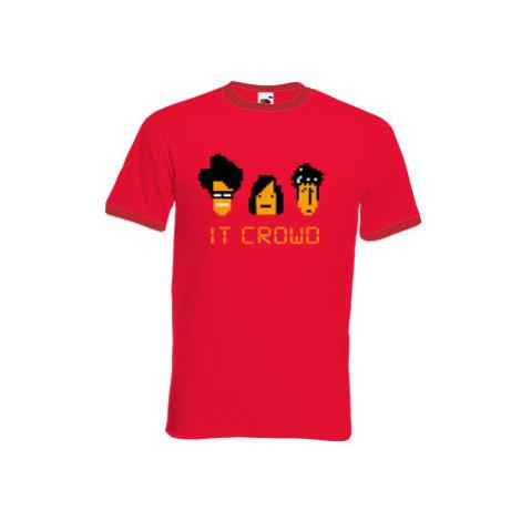Pánské tričko s kontrastními lemy IT CROWD