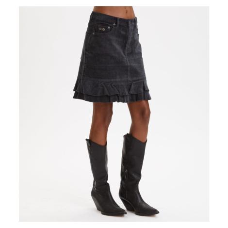 Sukně Odd Molly Power Hour Skirt - Černá