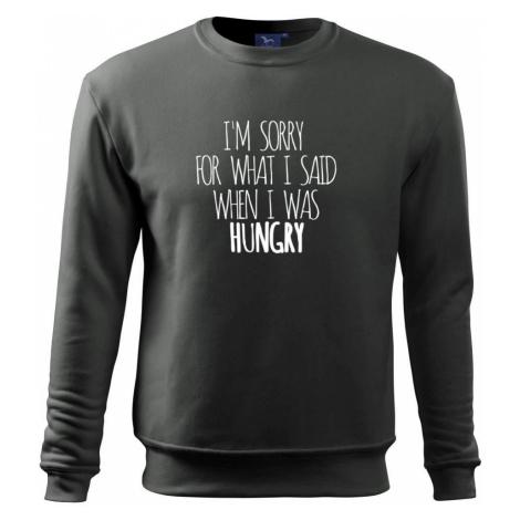 I am sorry for what i said when i was hungry - Mikina Essential pánská