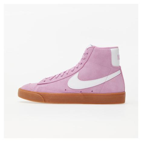 Nike W Blazer Mid '77 Suede Beyond Pink/ White-Gum Med Brown