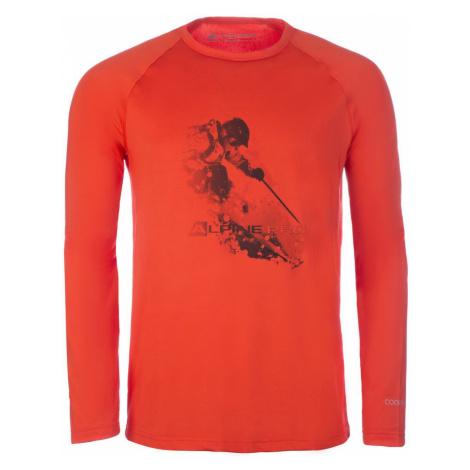 ALPINE PRO VALD 2 Pánské triko MTSM303474 orange.com