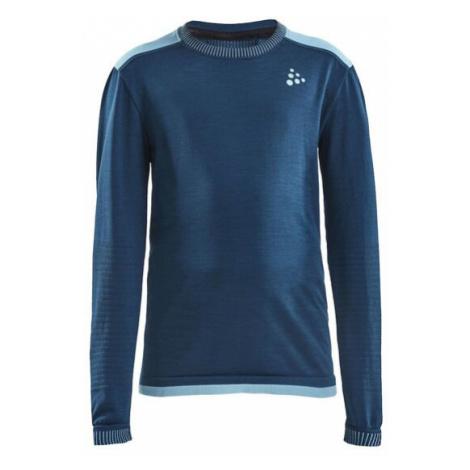 Dětské tričko CRAFT Fuseknit Comfort modrá