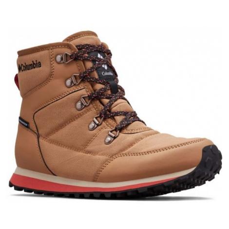 Columbia WHEATLEIGH SHORTY hnědá - Dámská zimní obuv