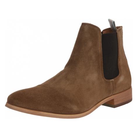 Shoe The Bear Chelsea boty 'DEV S' hnědá