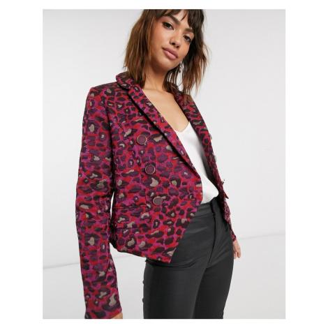 Closet double breasted blazer-Multi