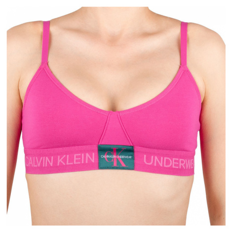 Dámská podprsenka Calvin Klein růžová (QF4919E-TZX)