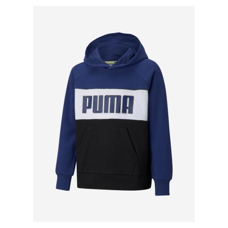 Aplha Mikina dětská Puma Modrá