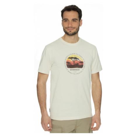 Pánské tričko BUSHMAN JOURNEY krémová