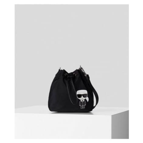 Taška Karl Lagerfeld K/Ikonik Nylon Bucket