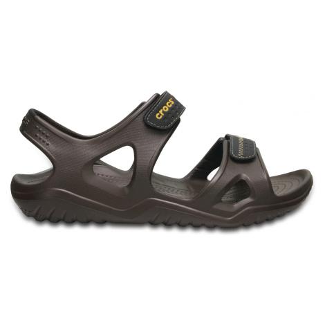 Crocs Swiftwater River Sandal M - Espresso/Black M7